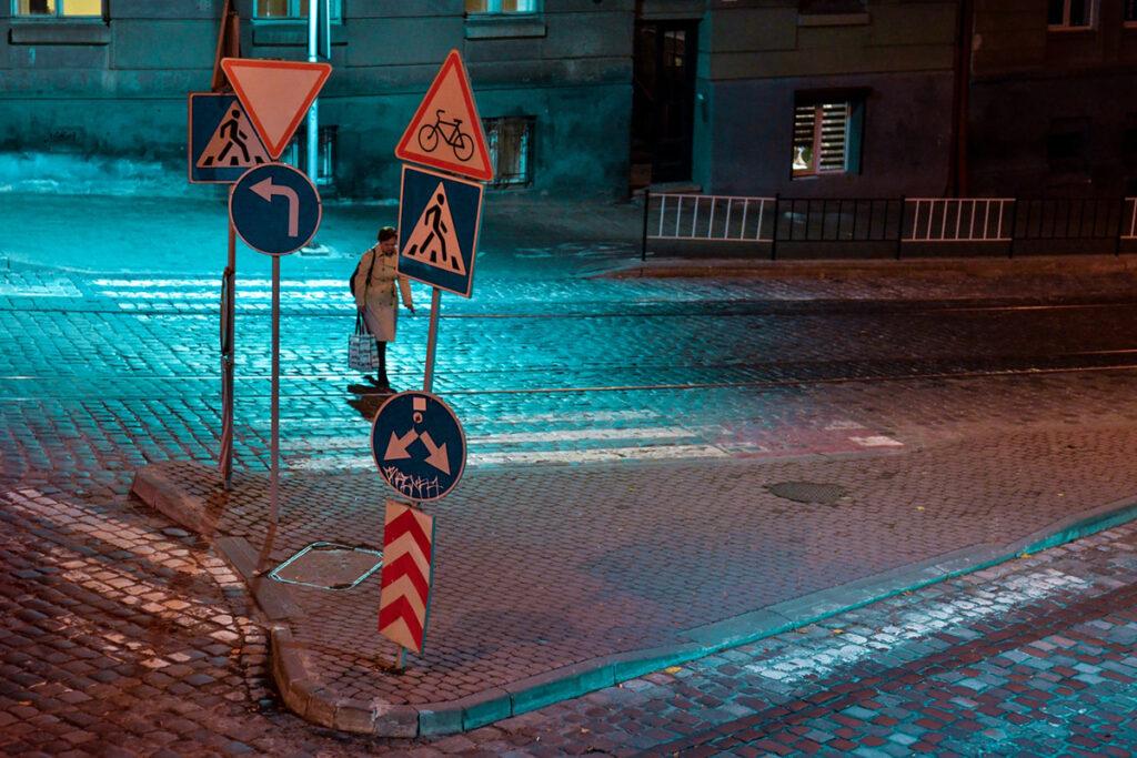 дорожные знаки - производство дорожных знаков - компания Leant