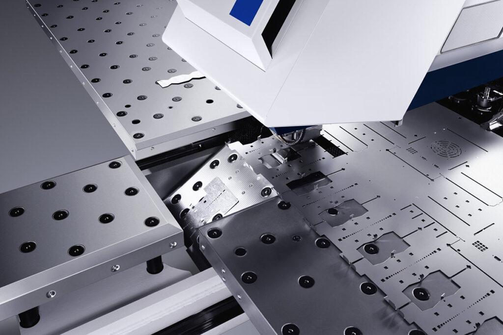 координатная пробивка металла - перфорация металла - металлообработка